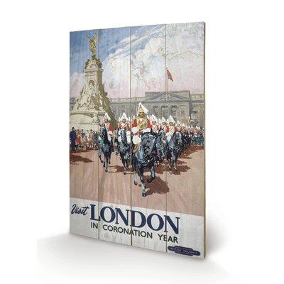 """Art Group London """"6"""" Vintage Advertisement Plaque"""