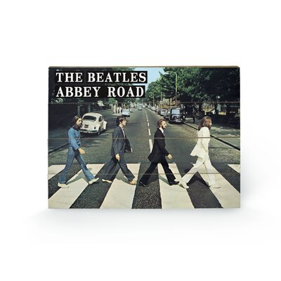 Art Group The Beatles Abbey Road Photographic Print Plaque