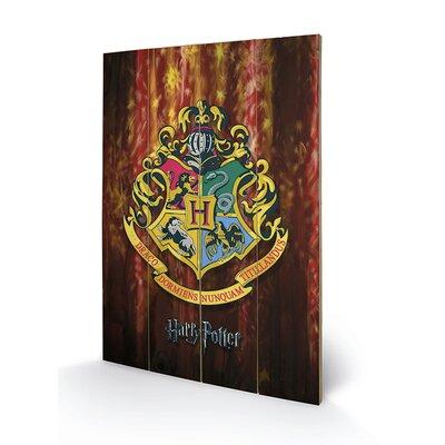 Art Group Harry Potter, Hogwarts Crest Vintage Advertisement Plaque