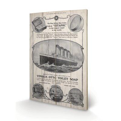 Art Group Titanic Vintage Advertisement Plaque