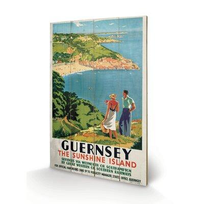 Art Group Guernsey Vintage Advertisement Plaque