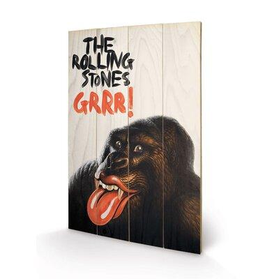 Art Group Rolling Stones Grr! Vintage Advertisement Plaque