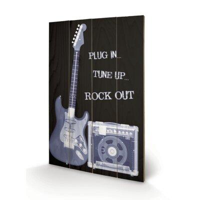 Art Group Rock Out Vintage Advertisement Plaque