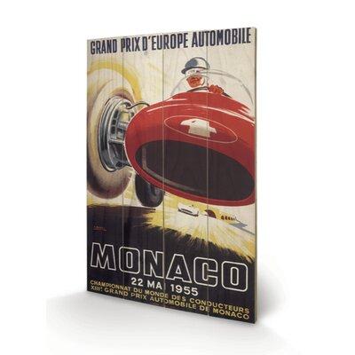 Art Group Monaco Vintage Advertisement Plaque