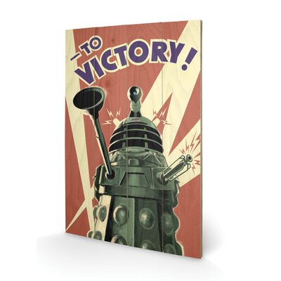 Art Group Doctor Who Victory Graphic Art Plaque