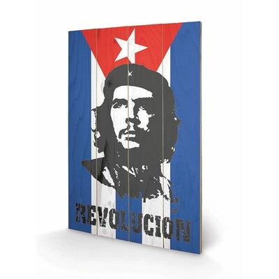 Art Group Che Guevara Flag Graphic Art Plaque