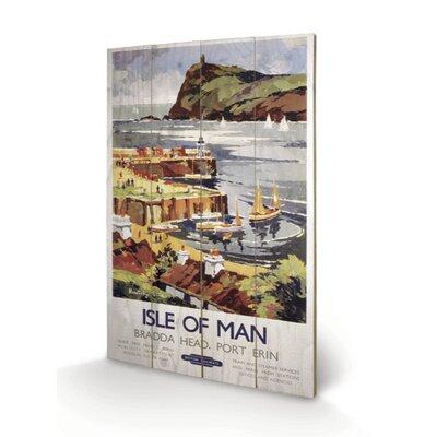 Art Group Isle of Man #1 Vintage Advertisement Plaque