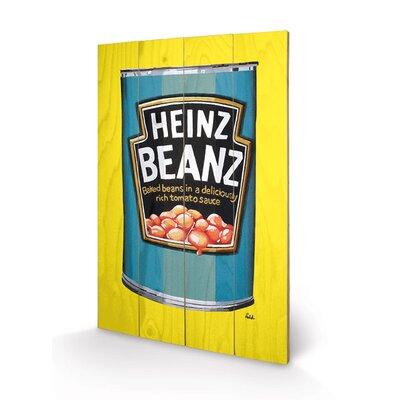 Art Group Heinz, Beanz Can Vintage Advertisement Plaque