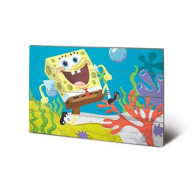 Art Group SpongeBob Sea Stroll Graphic Art Plaque