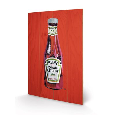 Art Group Heinz, Tomato Ketchup Bottle Vintage Advertisement Plaque