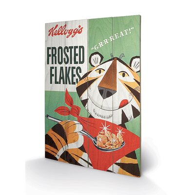 Art Group Vintage Kelloggs - Frosted Flakes Vintage Advertisement Plaque