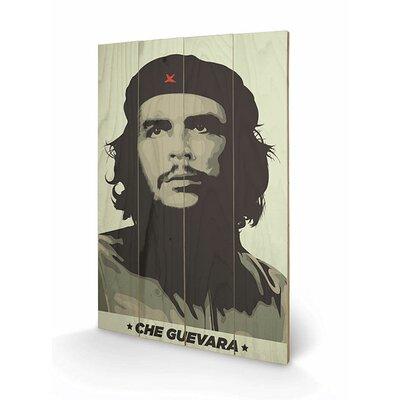 Art Group Che Guevara Graphic Art Plaque in Grey