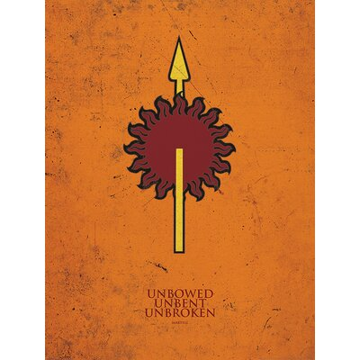 Art Group Game of Thrones, Martell Graphic Art