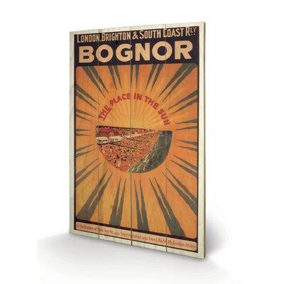 Art Group Bognor Vintage Advertisement Plaque