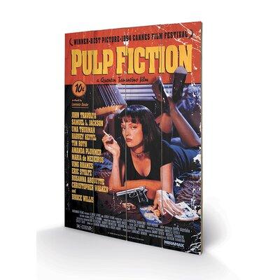 Art Group Pulp Fiction Cover Vintage Advertisement Plaque