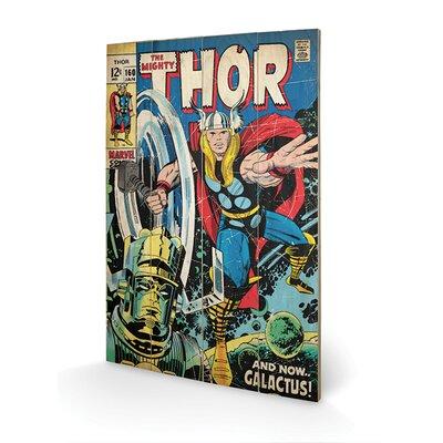 Art Group Thor - Galactus Vintage Advertisement Plaque