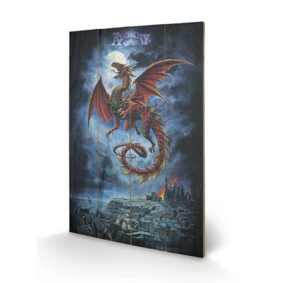 Art Group Whit by Wyrm by Alchemy Graphic Art Plaque