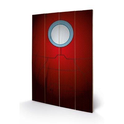 Art Group Avengers Assemble, Iron Man Torso Graphic Art Plaque