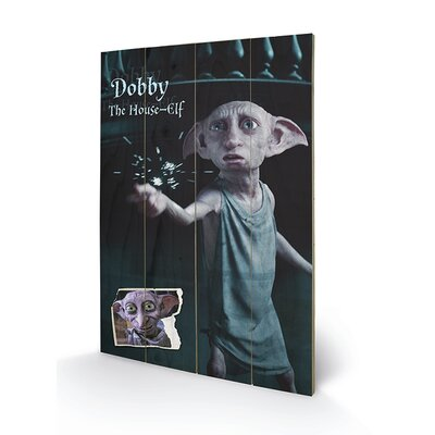 Art Group Harry Potter, Dobby Vintage Advertisement Plaque