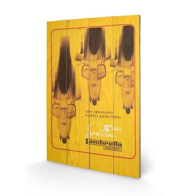 Art Group Lambretta - X150 Special Vintage Advertisement Plaque