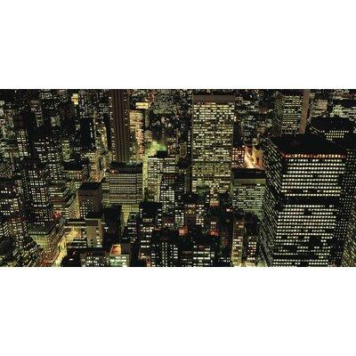 Art Group Manhattan Night by Richard Berenholtz Canvas Wall Art