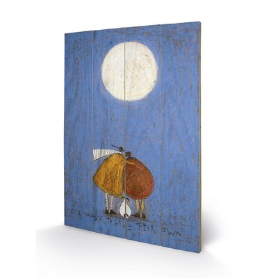 Art Group A Moon to Call Their Own by Sam Toft Art Print Plaque