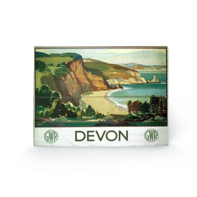 Art Group Devon #3 Vintage Advertisement Plaque