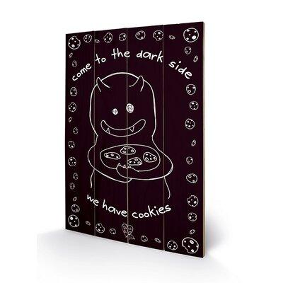 Art Group D&G Monster Mash - Dark Side Cookies Vintage Advertisement Plaque