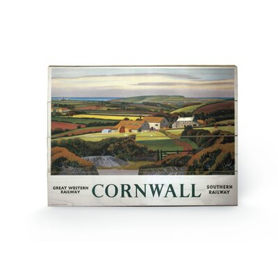 Art Group Cornwall #4 Graphic Art Plaque