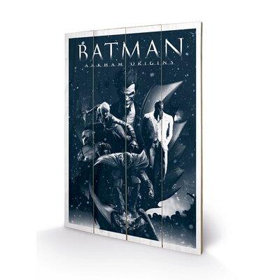 Art Group Montage, Batman Arkham Origins Vintage Advertisement Plaque