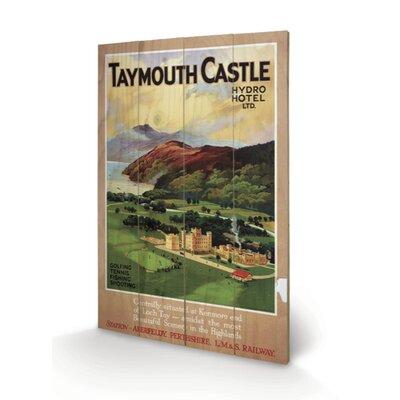 Art Group Taymouth Castle Vintage Advertisement Plaque