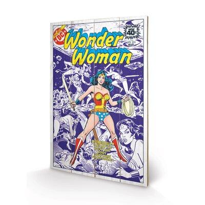 Art Group DC Comics Wonder Woman - Body Snatcher From Space Graphic Art Plaque