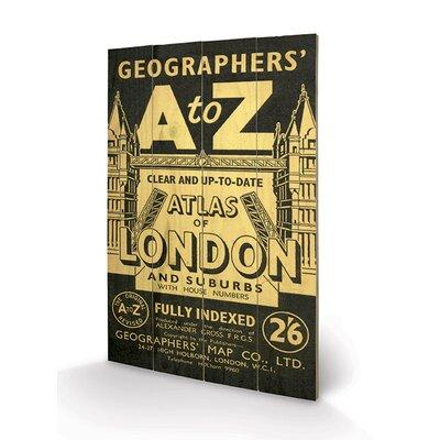Art Group Vintage I, A-Z Vintage Advertisement Plaque