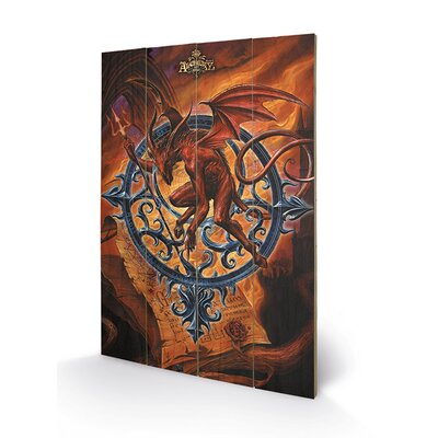 Art Group Astrolabeus by Alchemy Graphic Art Plaque