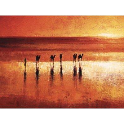 Art Group Camel Crossing by Jonathan Sanders Canvas Wall Art