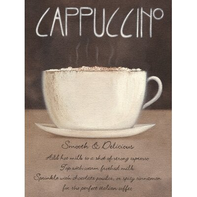 Art Group Cappuccino by Mandy Pritty Canvas Wall Art