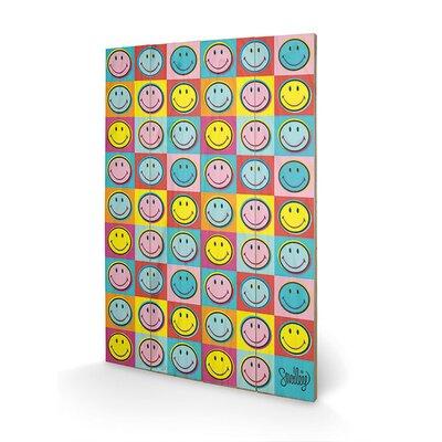 Art Group Smiley Pop Graphic Art Plaque