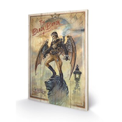 Art Group The Black Baron by Alchemy Graphic Art Plaque
