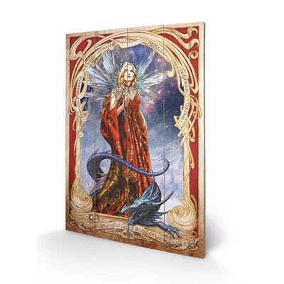 Art Group Starfall on Avalon by Alchemy Graphic Art Plaque