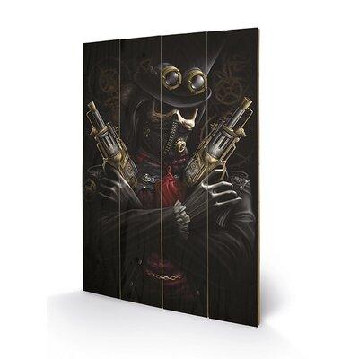 Art Group Spiral Steampunk Bandit Graphic Art Plaque