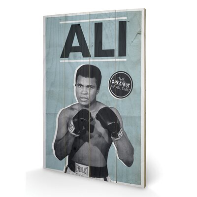 Art Group Muhammad Ali Greatest Vintage Advertisement Plaque