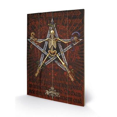 Art Group Danse Macabre by Alchemy Graphic Art Plaque