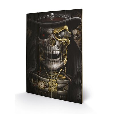 Art Group Spiral Steampunk Reaper Graphic Art Plaque
