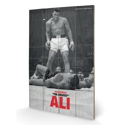 Art Group Muhammad Ali Liston Vintage Advertisement Plaque