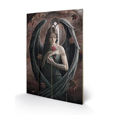 Art Group Dragon's Fury by Anne Stokes Graphic Art Plaque