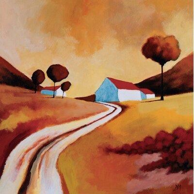 Art Group Summer Sunset by Derek Melville Canvas Wall Art