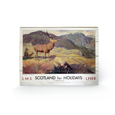 Art Group Scotland for Holoidays Graphic Art Plaque