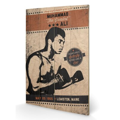 Art Group Muhammad Ali Fighter Vintage Vintage Advertisement Plaque