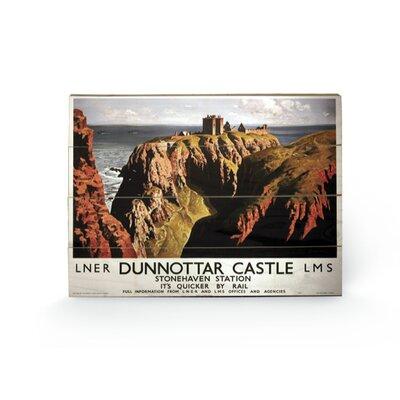 Art Group Dunnottar Castle Vintage Advertisement Plaque