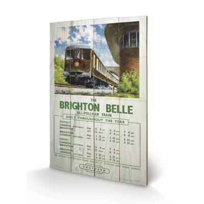Art Group Brighton Belle Vintage Advertisement Plaque